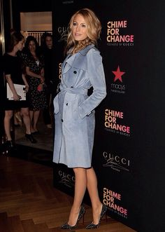 naimabarcelona:  Blake Lively attends Gucci at Macy's Herald Square on May 6, 2014