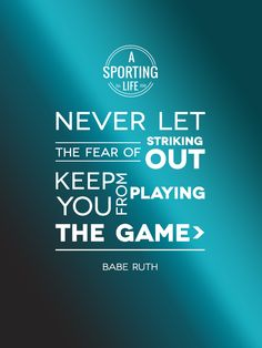 www.asportinglife.com  #sports #quotes #sportsquotes #baberuth
