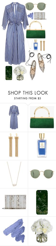 """""""Beautiful Brunch"""" by bechs ❤ liked on Polyvore featuring Tome, Balmain, Chloé, Lancôme, Kendra Scott, Elie Saab, Casetify and Diane James"""