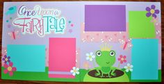 Once Upon A Fairytale 2 Page 12x12 Scrapbook Layout | eBay