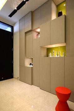 Striking Four-Level Terrace House in Singapore by KNQ Associates