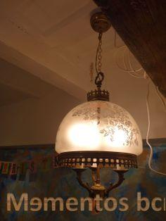 Lámpara antigua estilo clásico