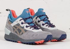 """ASICS updated the classic GEL Lyte III model with a winterized boot upper in the ASICS Gel Lyte III MT model. A new """"Carbon"""" colorway is now available: Snicker Shoes, Adidas Zx 8000, Reebok, Nba, Asics Gel Lyte Iii, What Should I Wear, Sneaker Boots, Kicks, Men's Shoes"""