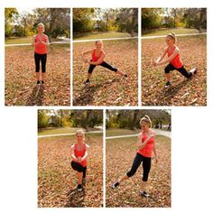 7 Fun Fall Fitness Moves - great job Redbook Mag. Let's get fit! www.idealbodiesonline.com
