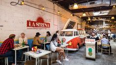 """Les """"Cheap Eats"""", festins low cost à New York Le Hangar, Abs, Street View, New York, Street Food, Travel, Search, Google, Places"""