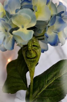 Alice in Wonderland Hydrangea Flower face by ShariDeppDesigns, $49.99