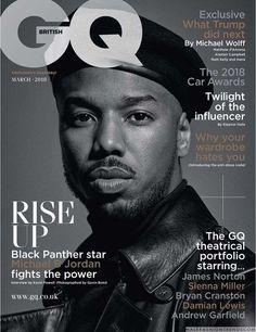 Michael B. Jordan posa para Gavin Bond en el número de marzo de GQ UK