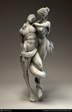 Temptation by Fabio Prati This is An Amazing Statue That I've Ever Saw. Just Beautifully Done, Do you agree.