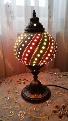 Gourd lamp su kabağı lamba 150 tl