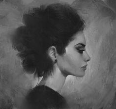ArtStation - #013-Sketch, Ayah Alghamry
