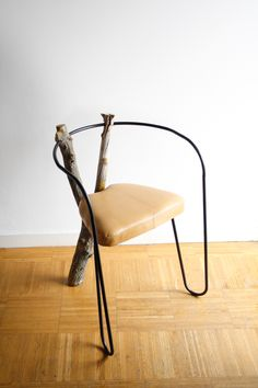 Wishbranch chair by Carlos Delgado Couchou  #design #furniture #mobilier #meuble #chair #chaise #silla #bois #wood