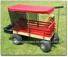 Kid's Wooden Wagon With Canopy - Buy Wagon,kids Custom Wagons,children Wooden…