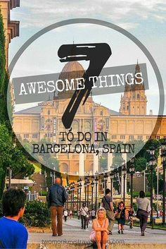 Barcelona is the cosmopolitan capital of Spain's Catalonia region and is overflowing with culture so rich that dates back from many years before. Here are just 7 great things to do in Barcelona!