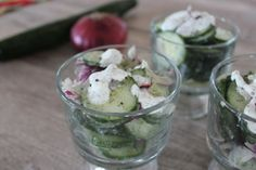 Easy Cucumber Salad by Deals to Meals