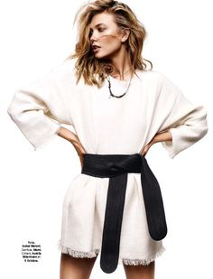 Glamour France June 2015 | Karlie Kloss by #Alique #IsabelMarant