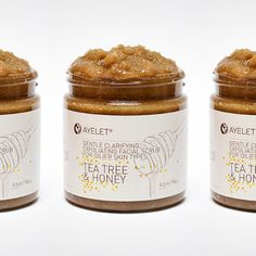 Love the sketches/doodles. Ayelet Naturals - Facial scrubs on Packaging Design Served