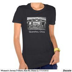 Women's Jersey T-Shirt, Size M, China