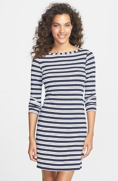 Free shipping and returns on MOTT 50 'Teresa' Boatneck Dress (UPF 50) at Nordstrom.com. An elegant boat neck adds to the flattery of a long-sleeve stretch-knit dress elevated with extra protection against the sun's harmful rays.