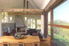 Wood & iron trusses