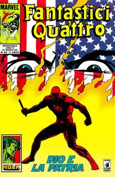 Cover for Fantastici Quattro (Edizioni Star Comics, 1988 series) #42