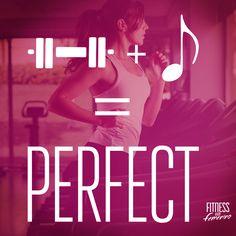 La combinación perfecta. Fitness en Femenino.