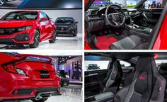 2017 Honda Civic Si Coupe Prototype Photos and Info – News – Car and Driver #2017 #honda #civic #si #coupe, #2017 #honda #civic #si #sedan, #10th-generation, #civic, #import, #tuner, #front-wheel-drive, #six-speed-manual, #short-shifter, #adaptive #damper, #adaptive #steering, #inline-four, #direct-injection, #turbo, #1.5-liter, #si, #type #r, #l.a. #auto #show, #honda #factory #performance…