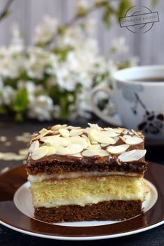 Polish Recipes, Polish Food, Cake Business, Tiramisu, Cheesecake, Food And Drink, Thanksgiving, Favorite Recipes, Sweets