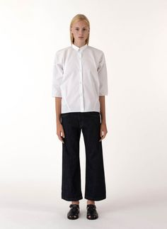 SOFIE D'HOORE White Seam Shirt and Jean - SS15 Collection in stores now!
