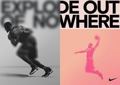 "30 Likes, 1 Comments - Bureau Borsche (@bureauborsche) on Instagram: ""Recent Nike propsals for a campaign! #EXPLODEOUTOFNOWHERE Head over to our website to see all our…"""