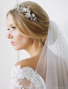 Bridal Hair Accessories | Wedding Headbands, Tiaras, Hair Vines – Page 2 – Off White