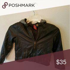 Boys leather jacket Great for winter Arizona Jean Company Jackets & Coats Blazers