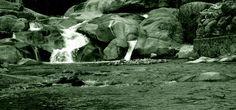 rio en la comarca de la vera ( caceres )
