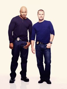 Chris O'Donell and LL Cool J as Callen and Sam in NCIA:LA