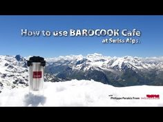 Barocook at swiss Alps (3330m with snow) Barocook Flameless Cooking System (Flameless Cooker) - BC-004 Cafe 400ml