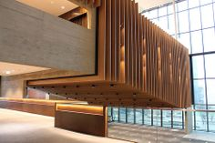 The suspended Lecture Theatre by Oxford Brookes University, via Flickr
