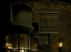 Borgin and Burkes is a shop in Knockturn Alley that sells objects of dark magic and other dangerous magical artifacts.  This shop is where the vanishing cabinet was located that allowed the death eaters to gain access to Hogwarts thru its twin.