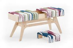 """Continuiamo il nostro viaggio tra le scuole di design nordiche scoperte in occasione della Stockholm Furniture, con il Tartu Art College dell'Estonia e con il suo progetto """"Bench"""" tra furniture e textile design."""