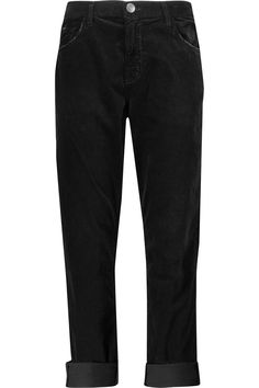 Shop on-sale Current/Elliott The Fling stretch-cotton velvet pants. Browse other discount designer Pants & more on The Most Fashionable Fashion Outlet, THE OUTNET.COM