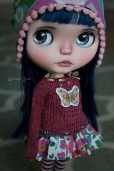 Custom OOAK Blythe Doll  Capri by CupcakeCurio on Etsy
