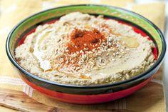 Hummus on Lähis-Idast pärit kirkerhernestest tehtud leivakate. Siin on klassikaline retsept.  <!-- wpa2a.script_load(); //-->
