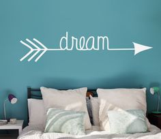 Dream Arrow Vinyl Decal Interior & Exterior Available by LEVinyl