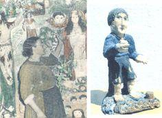 Historia de Sandalia Simón Fernández (Toledo, Villacañas, 1902-1987), más conocida como la tía Sandalia. Una mujer de condición humilde que, de un modo u otro consiguió entregarse a su actividad creativa sin encontrar la oposición que normalmente habría despertado en su entorno cualquier persona que descuidara sus obligaciones.