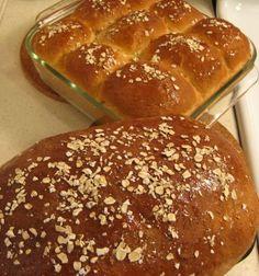 Honey Oatmeal Bread