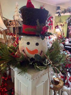 Snowman floral