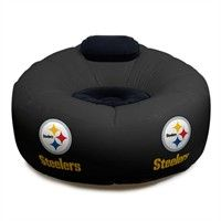 steelers beanbag...the only thing missing from our pittsburgh room