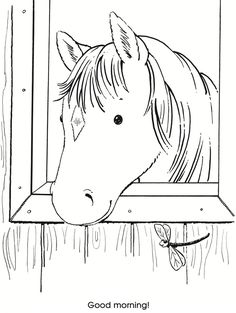 Let's Color Together -- Horses and Ponies Dover Publications