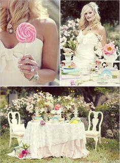 Alice and Wonderland wedding