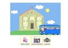 Peppa de excursión al museo en autobús (con pictogramas arasaac) by quiero-compartir via slideshare