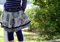 Project Run and Play Tutorials, Week 1 – Zippered Circle Skirt