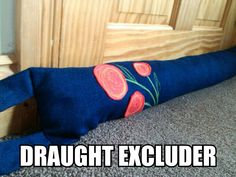 Draught Excluder Diy, Draught Excluders, Rice Sock, Applique Fabric, Insulation, Machine Embroidery, Your Design, Sewing Projects, How To Apply